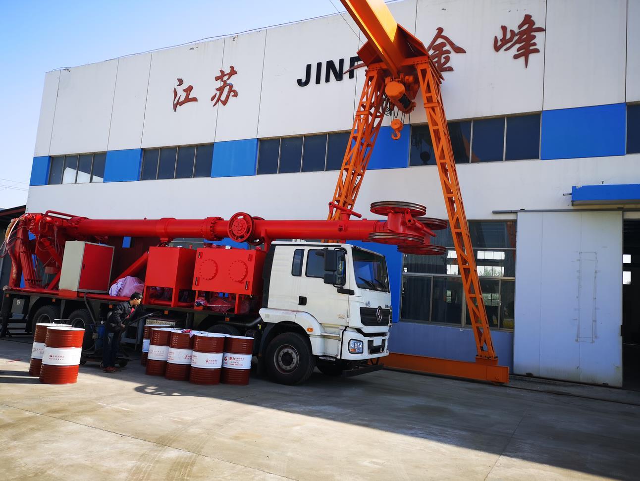 YYBYJ80/35型防喷作业机发货长庆